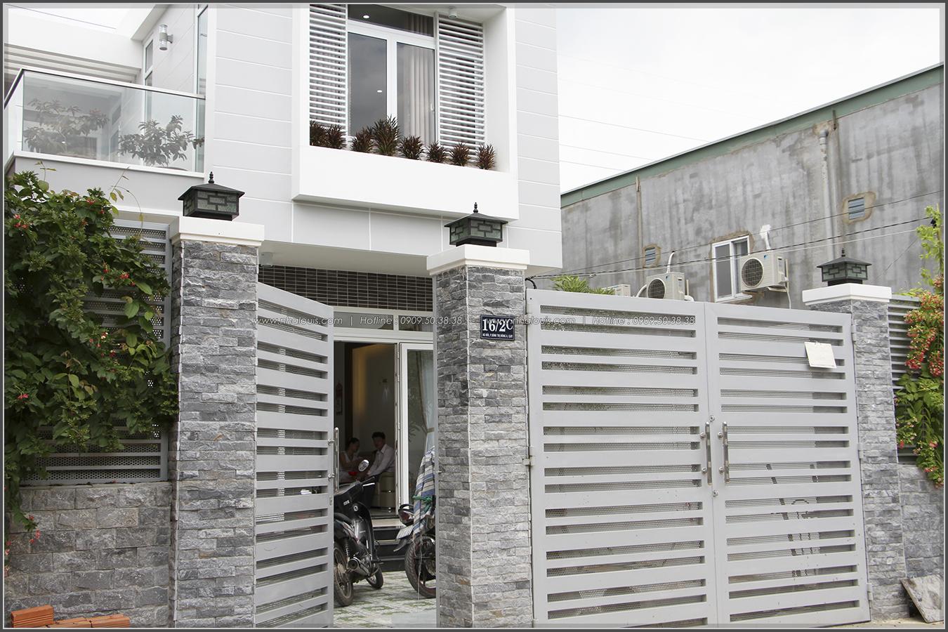 Thi công xây dựng nhà phố 1 trệt 1 lầu của chị Hoa quận Bình Tân