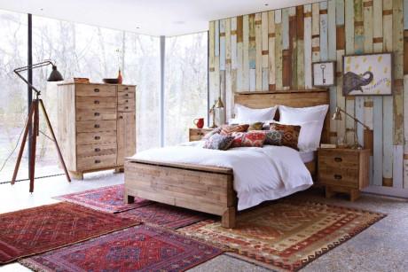 Choáng với thiết kế phòng ngủ theo phong cách Rustic đẹp lung linh
