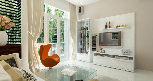 Thiết kế nhà cấp 4 đẹp hiện đại với cách bố trí nội thất hoàn hảo