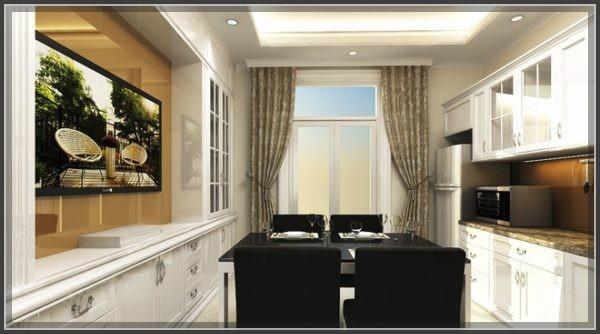 Xao xuyến thiết kế nhà phố cổ điển 3 tầng đẹp đến nao lòng - 3