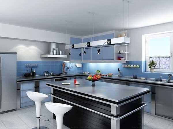 Thiết kế phòng bếp kết hợp quầy bar mini tiện lợi và độc đáo - 03