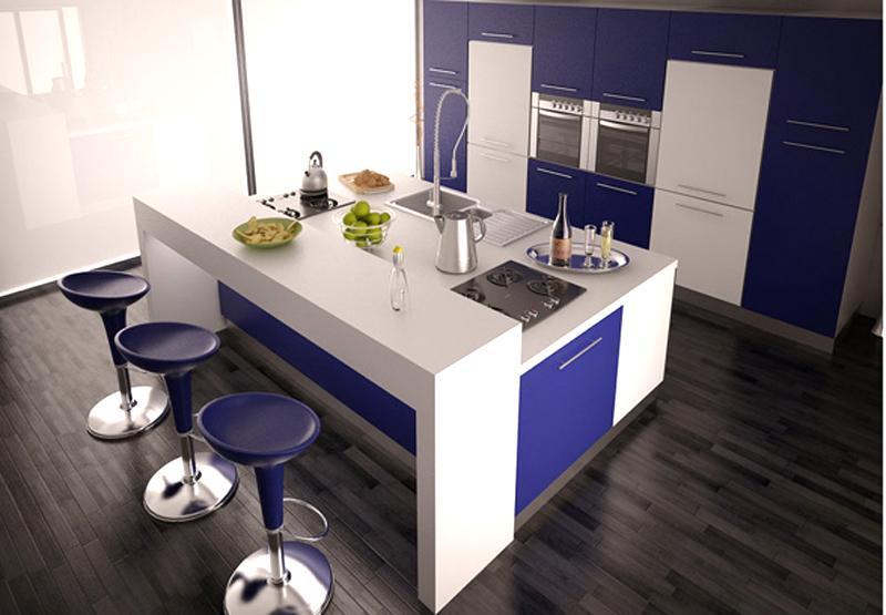 Thiết kế phòng bếp kết hợp quầy bar mini tiện lợi và độc đáo - 04