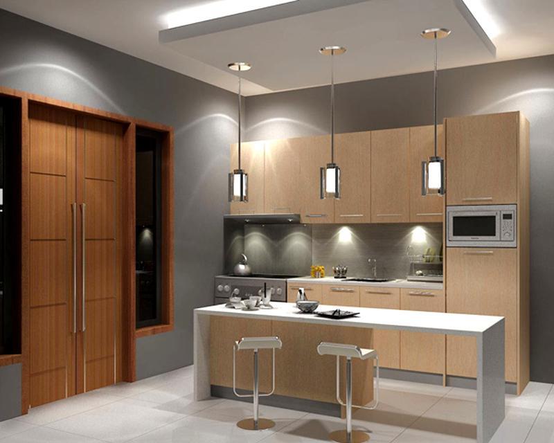 Thiết kế phòng bếp kết hợp quầy bar mini tiện lợi và độc đáo - 05