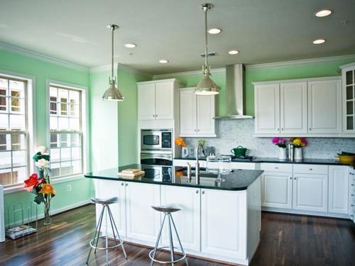 Các mẫu thiết kế phòng bếp đẹp cho nhà diện tích nhỏ - 01
