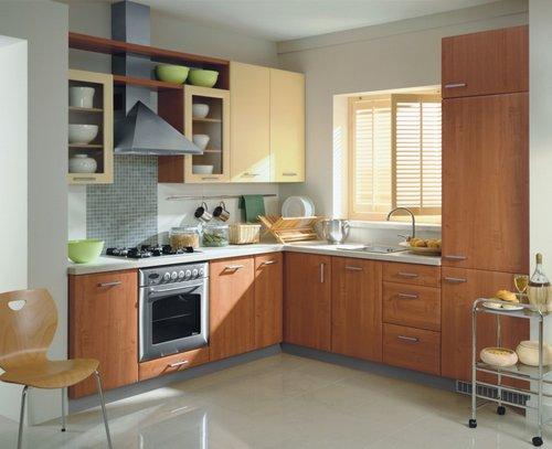 Các mẫu thiết kế phòng bếp đẹp cho nhà diện tích nhỏ - 02