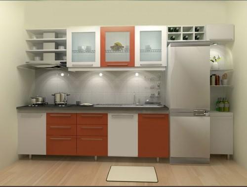 Các mẫu thiết kế phòng bếp đẹp cho nhà diện tích nhỏ - 03