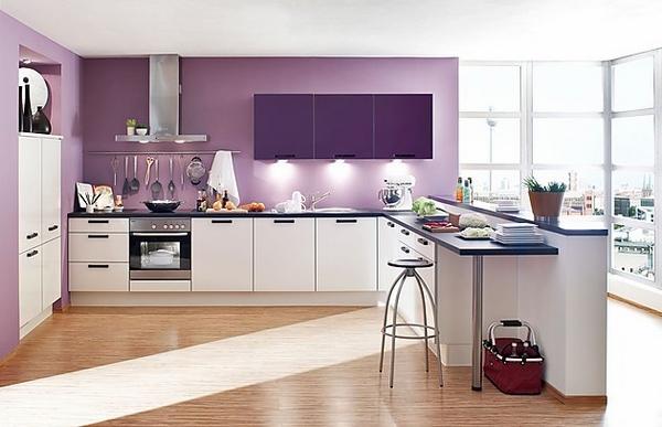 Những thiết kế sắc màu phòng bếp hiện đại đẹp độc đáo