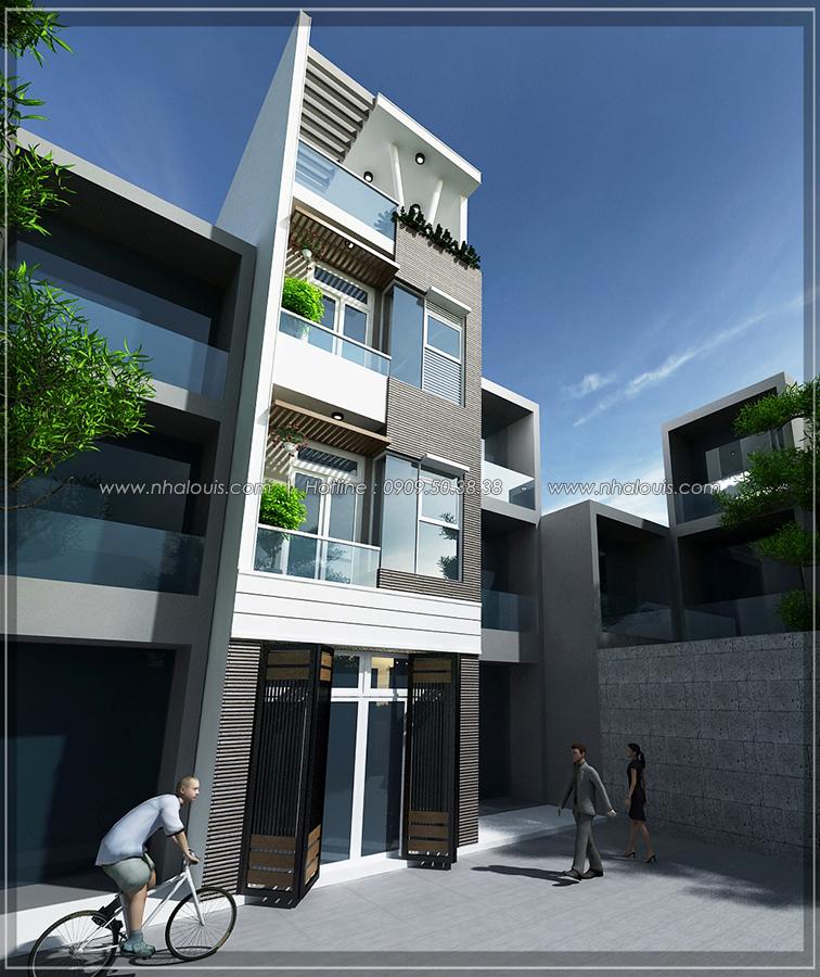 Thiết kế nhà đẹp diện tích nhỏ tại Quận 3 cho người có thu nhập thấp - 01
