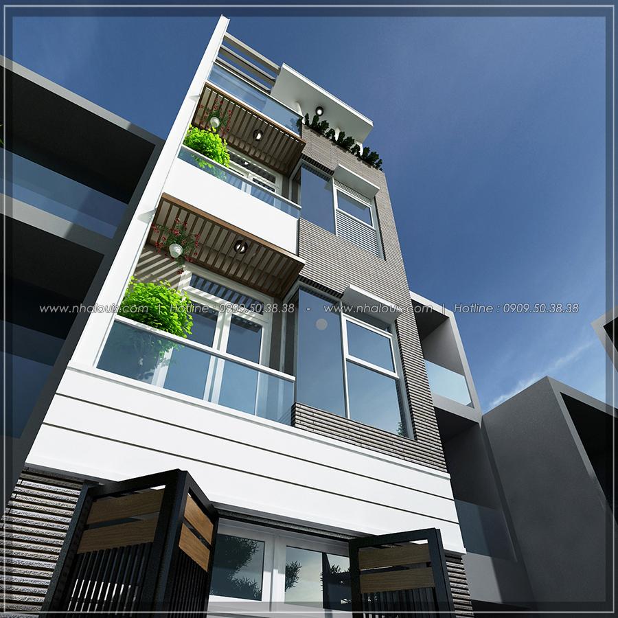 Thiết kế nhà đẹp diện tích nhỏ tại Quận 3 cho người có thu nhập thấp - 02