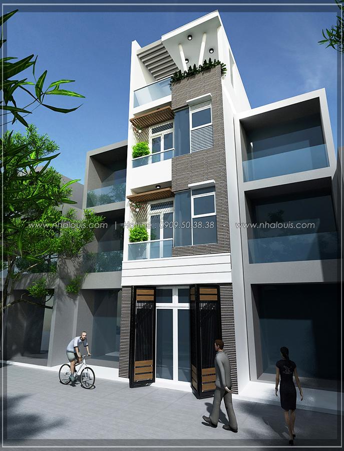 Thiết kế nhà đẹp diện tích nhỏ tại Quận 3 cho người có thu nhập thấp - 03
