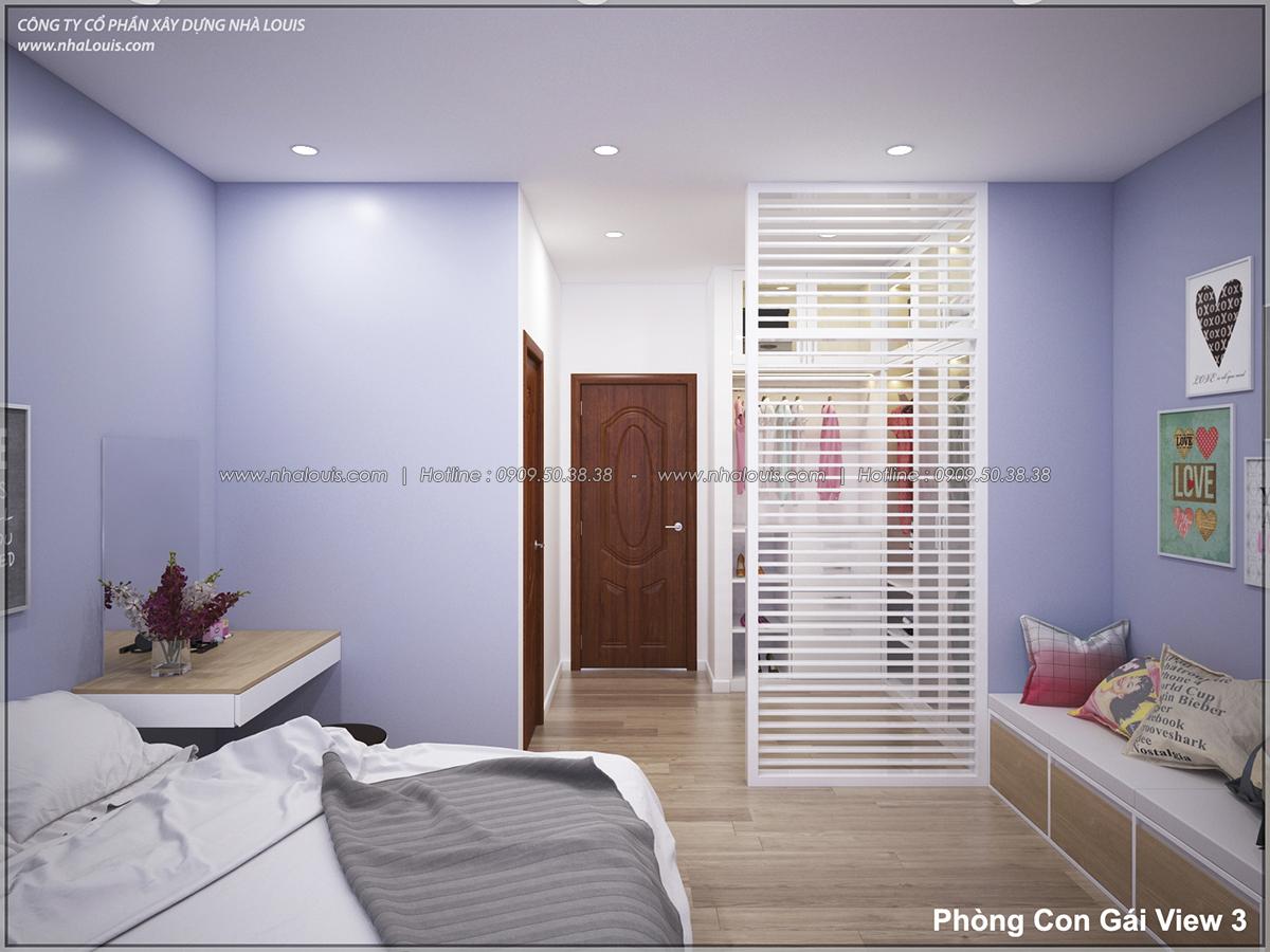Thiết kế nhà lệch tầng hiện đại mặt tiền 4.5m x 14.5m tại quận Tân Bình - 28