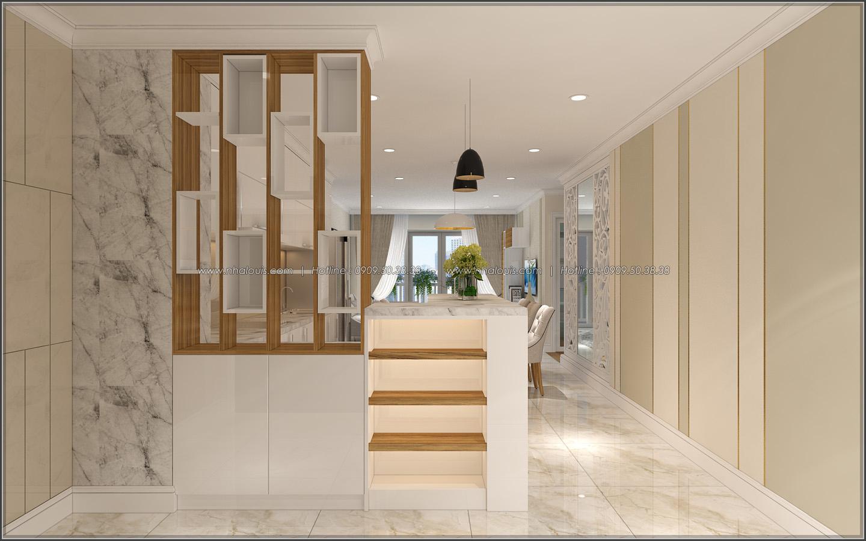Bị chinh phục với thiết kế nội thất căn hộ Sunrise City đẹp sang trọng - 01