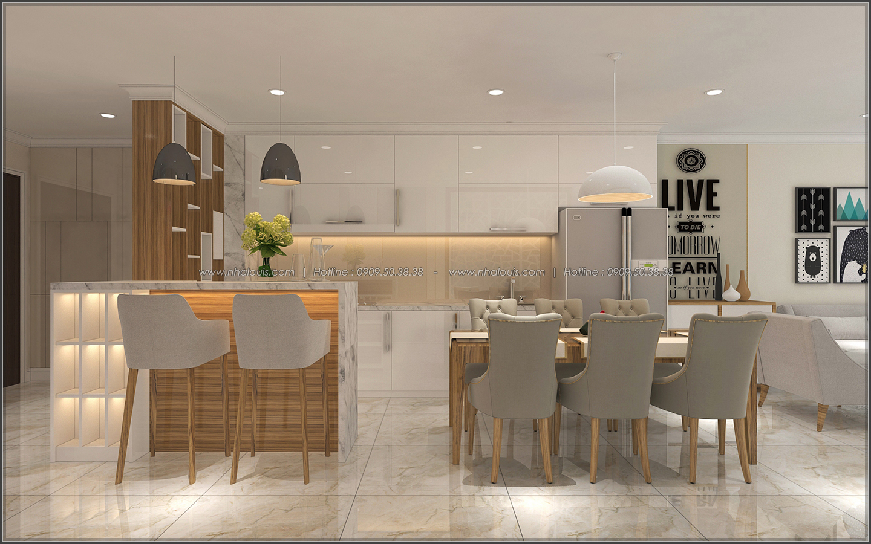 Bị chinh phục với thiết kế nội thất căn hộ Sunrise City đẹp sang trọng - 02