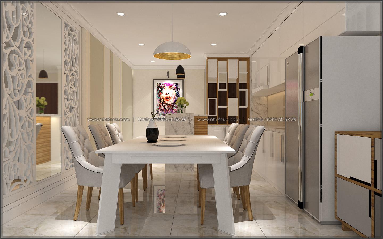 Bị chinh phục với thiết kế nội thất căn hộ Sunrise City đẹp sang trọng - 03