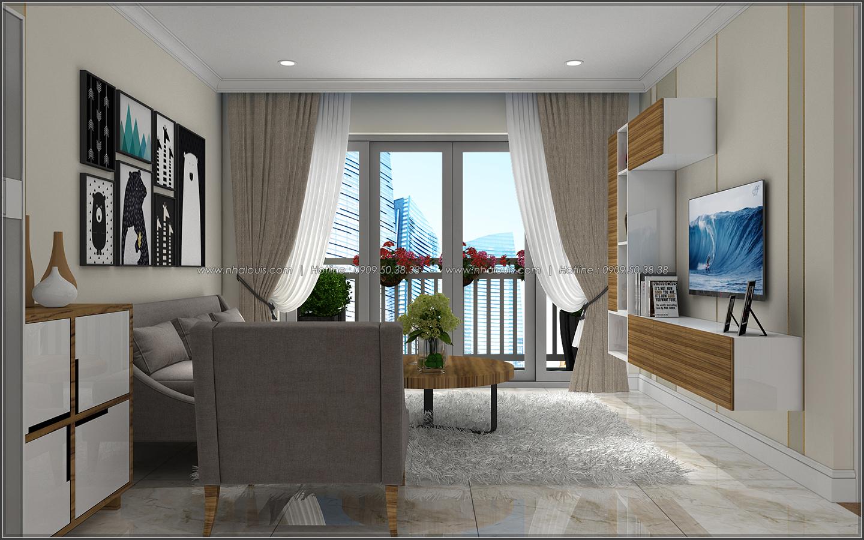 Bị chinh phục với thiết kế nội thất căn hộ Sunrise City đẹp sang trọng - 04