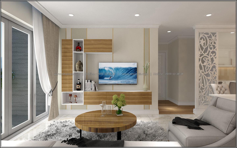 Bị chinh phục với thiết kế nội thất căn hộ Sunrise City đẹp sang trọng - 05