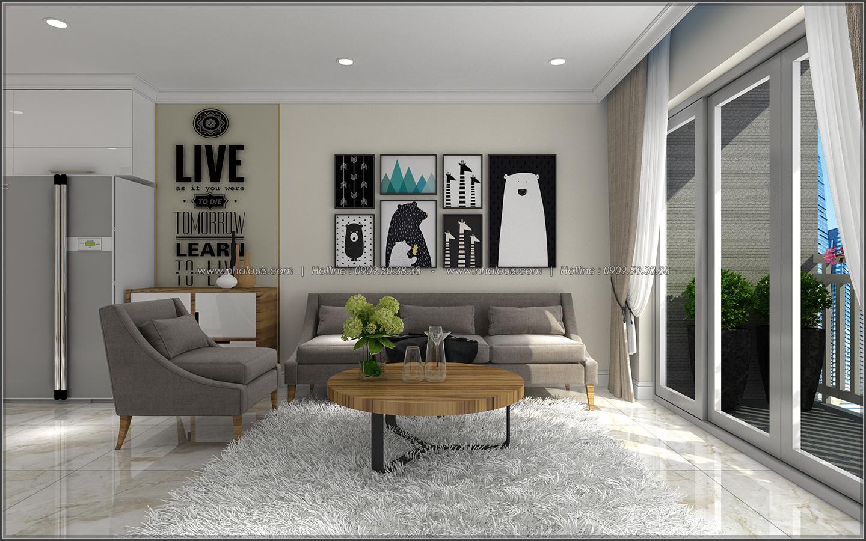 Bị chinh phục với thiết kế nội thất căn hộ Sunrise City đẹp sang trọng - 06