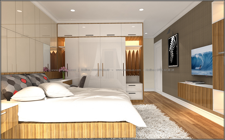 Bị chinh phục với thiết kế nội thất căn hộ Sunrise City đẹp sang trọng - 07