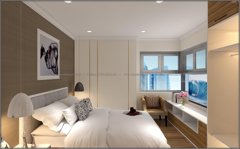 Bị chinh phục với thiết kế nội thất căn hộ Sunrise City đẹp sang trọng - 11