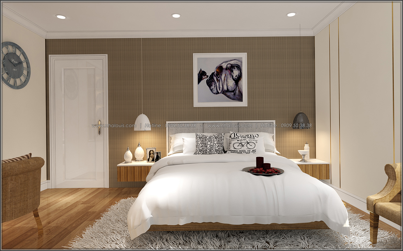 Bị chinh phục với thiết kế nội thất căn hộ Sunrise City đẹp sang trọng - 12