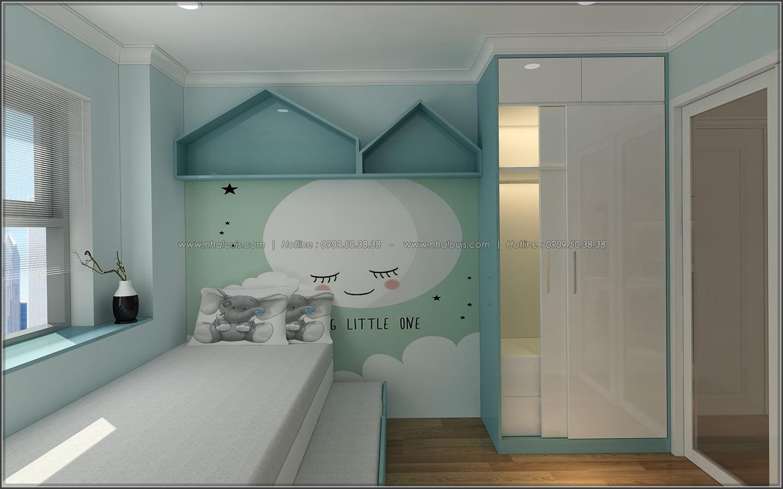 Bị chinh phục với thiết kế nội thất căn hộ Sunrise City đẹp sang trọng - 13