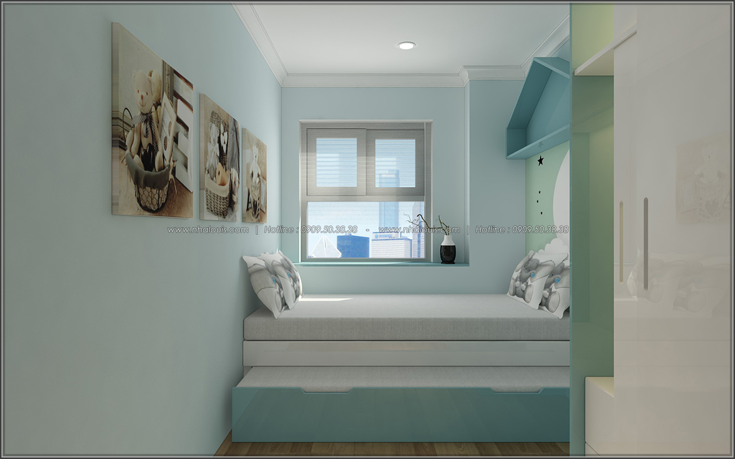 Bị chinh phục với thiết kế nội thất căn hộ Sunrise City đẹp sang trọng - 14