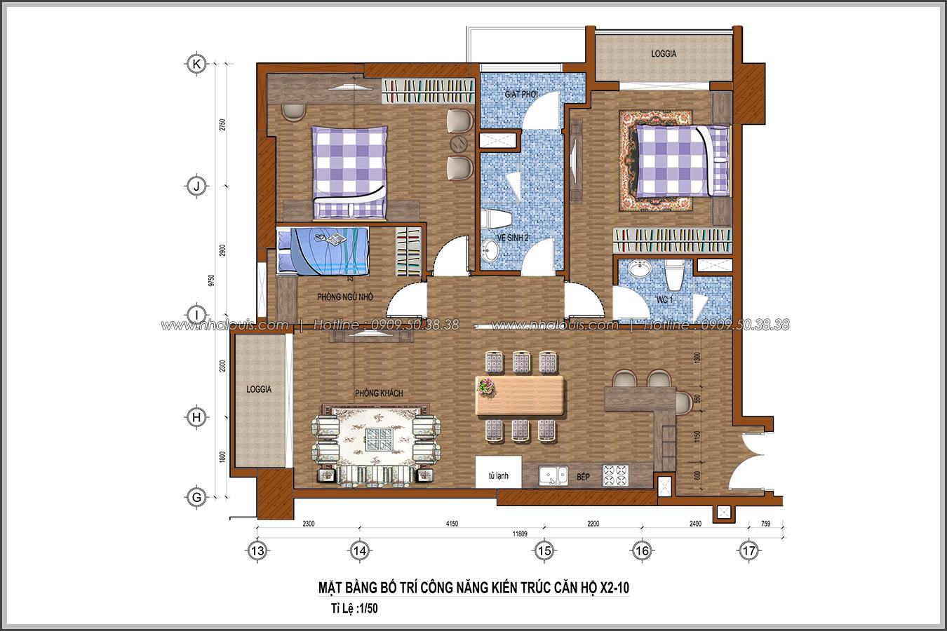 Bị chinh phục với thiết kế nội thất căn hộ Sunrise City đẹp sang trọng - 15