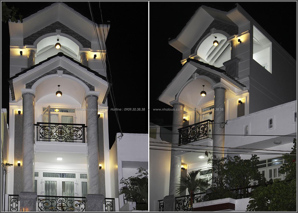 Bừng sáng không gian với nhà phố bán cổ điển ở Tân Phú