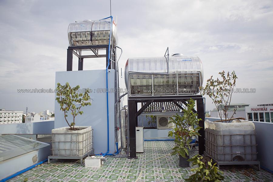 Hé lộ không gian sống đẳng cấp của công trình nhà ở kết hợp văn phòng ở Tân Bình