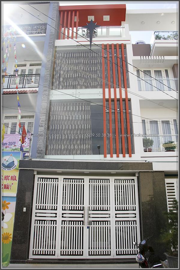 Không gian sống như mơ trong nhà phố 1 trệt 2 lầu phong cách hiện đại
