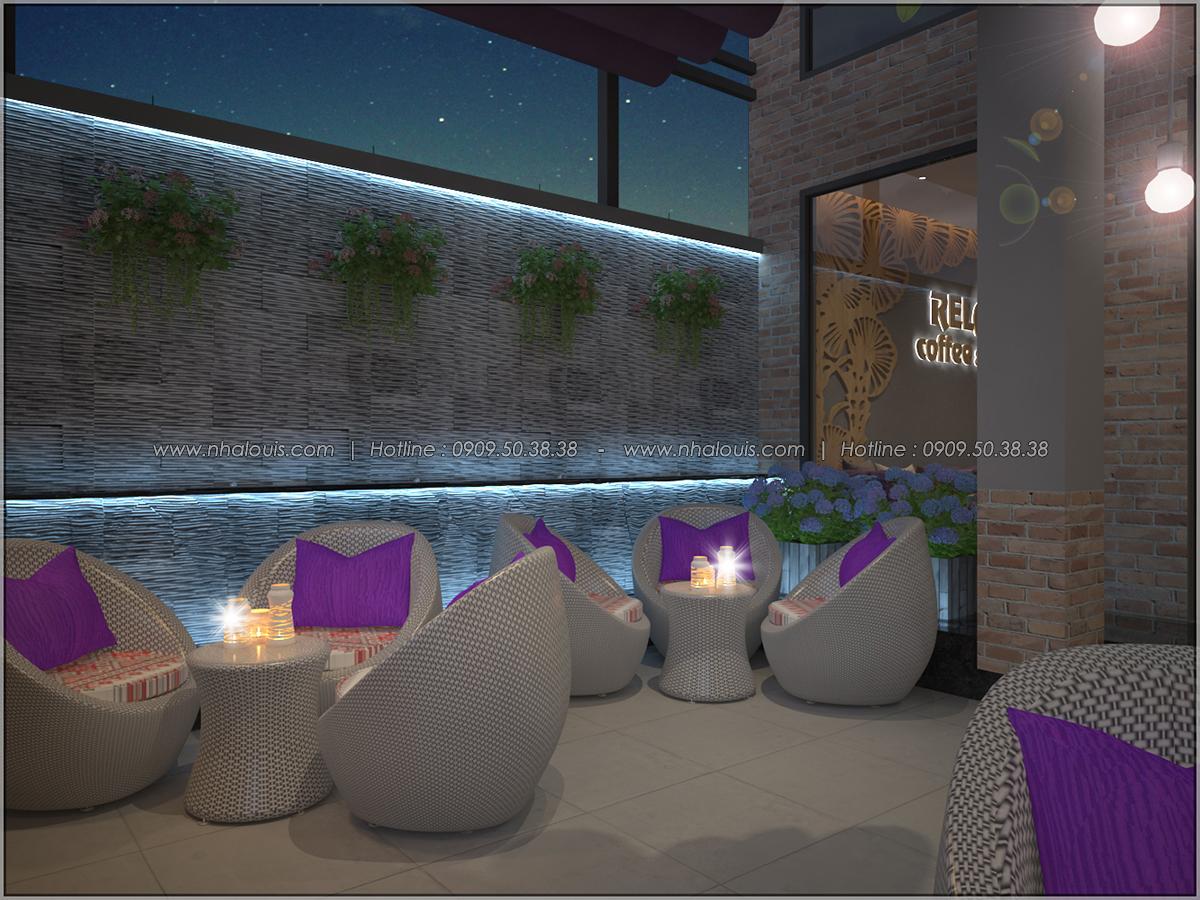 Kiến trúc nhà đẹp 3 tầng tại Bình Chánh kết hợp kinh doanh coffee & gym - 04