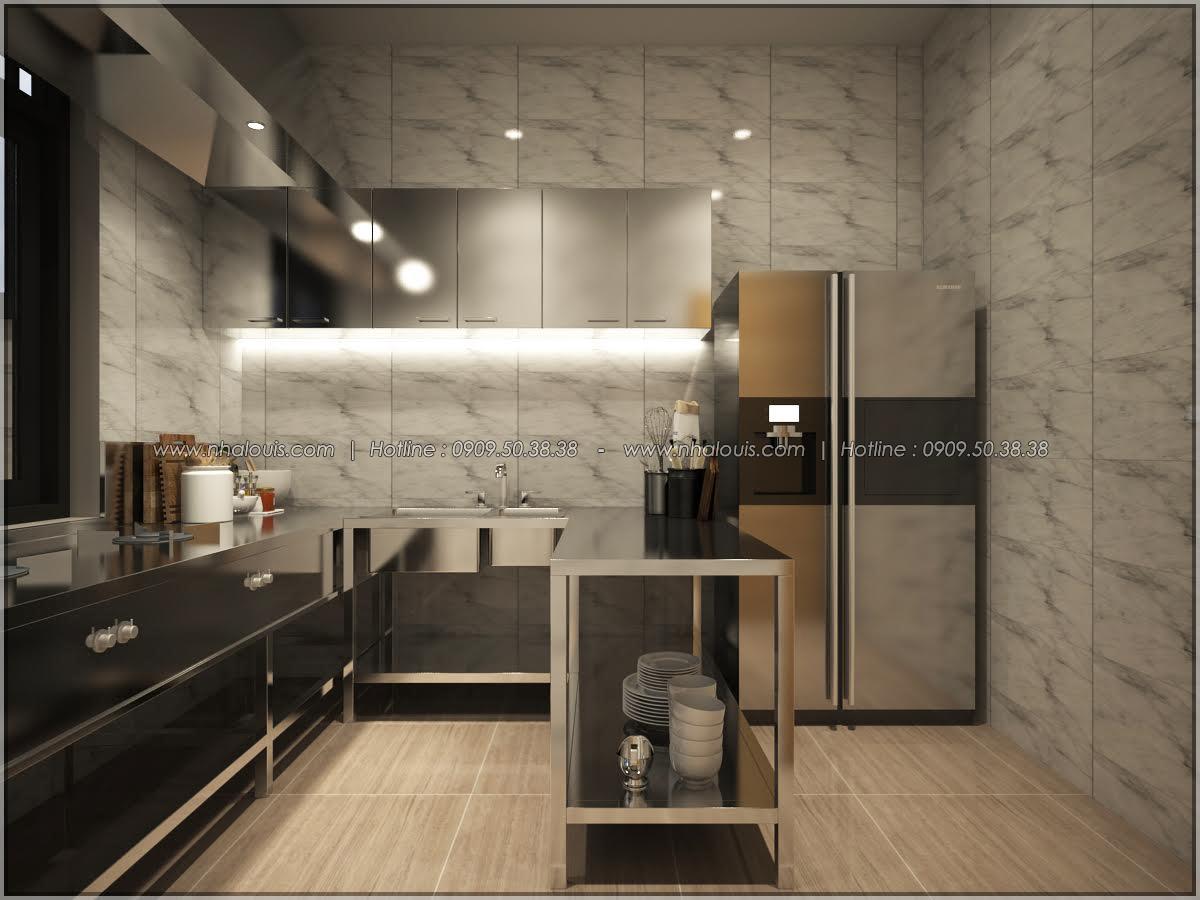 Kiến trúc nhà đẹp 3 tầng tại Bình Chánh kết hợp kinh doanh coffee & gym - 15