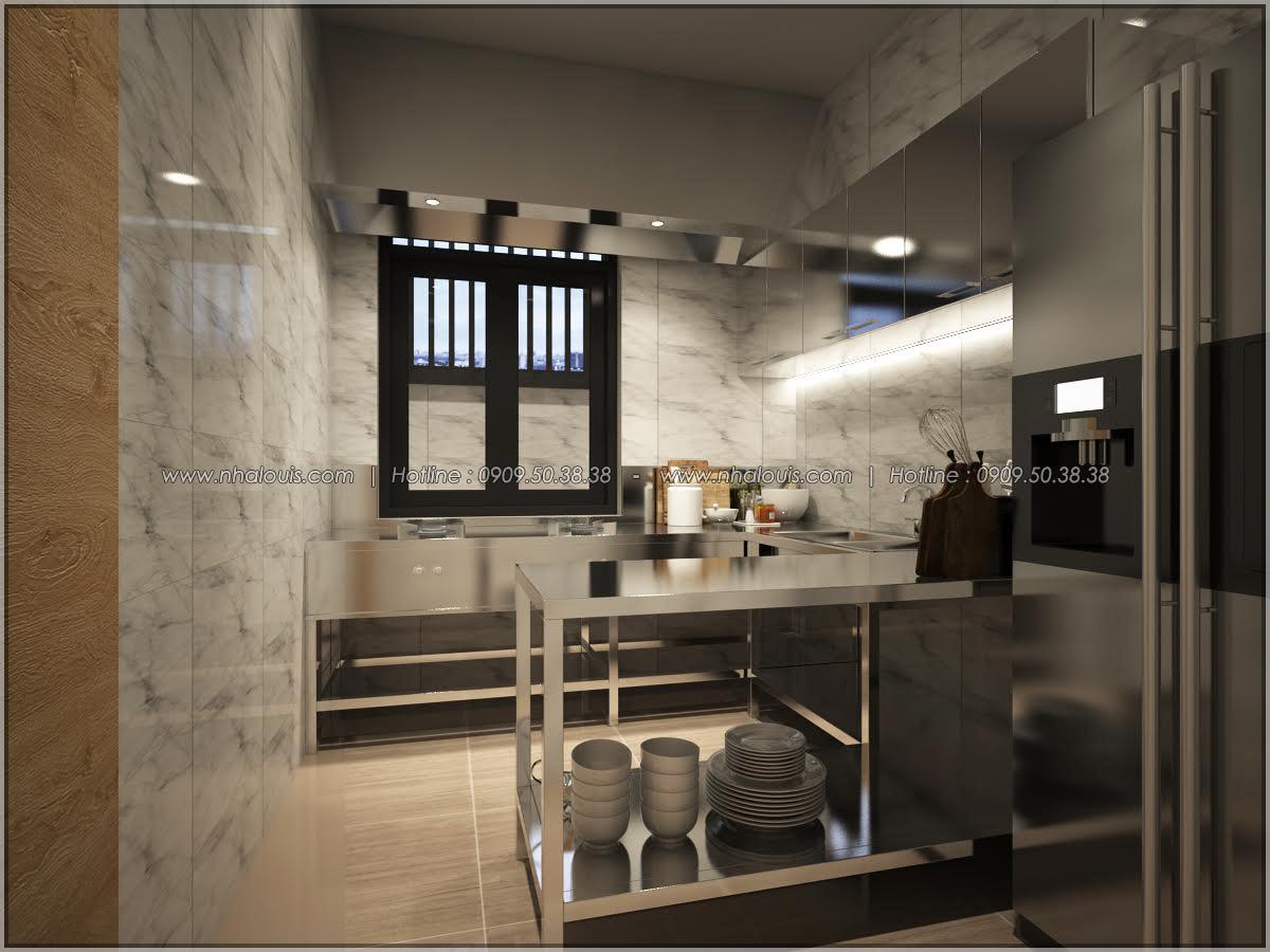 Kiến trúc nhà đẹp 3 tầng tại Bình Chánh kết hợp kinh doanh coffee & gym - 16