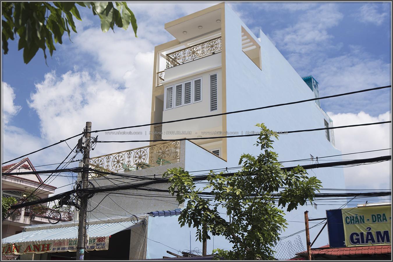 Mặt tiền nhà 3 tầng 5m kết hợp kinh doanh tại quận 8 đẹp thuần túy