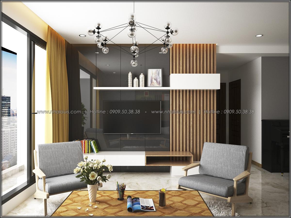 Mê mẩn thiết kế căn hộ 2 phòng ngủ Green Valley Quận 7 cực sang trọng - 01