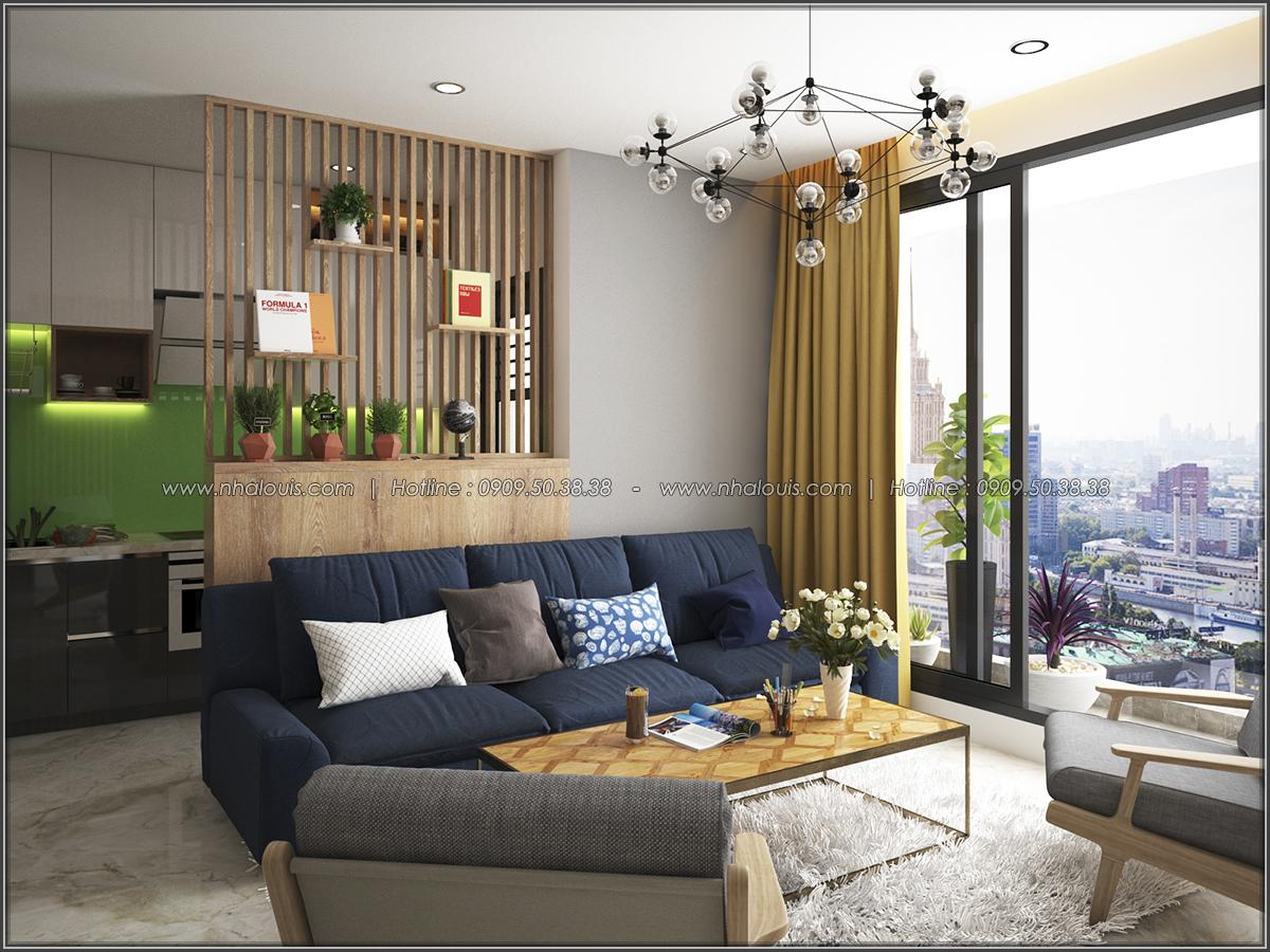 Mê mẩn thiết kế căn hộ 2 phòng ngủ Green Valley Quận 7 cực sang trọng - 04