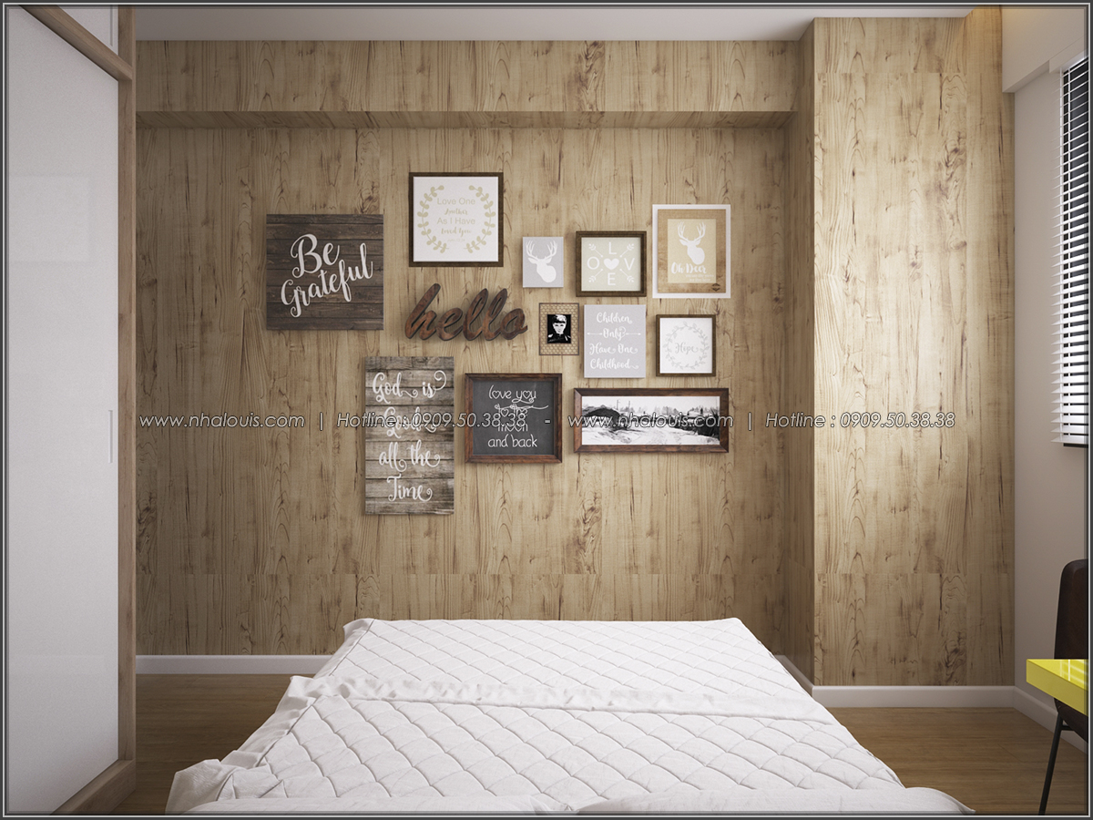 Mê mẩn thiết kế căn hộ 2 phòng ngủ Green Valley Quận 7 cực sang trọng - 17