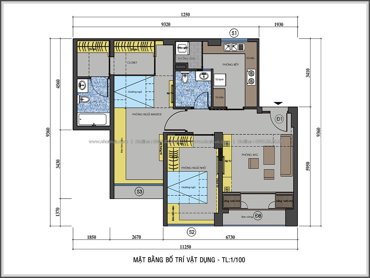 Mê mẩn với thiết kế nội thất chung cư nhỏ ở Quận 5 đẹp không lỗi lầm - 02