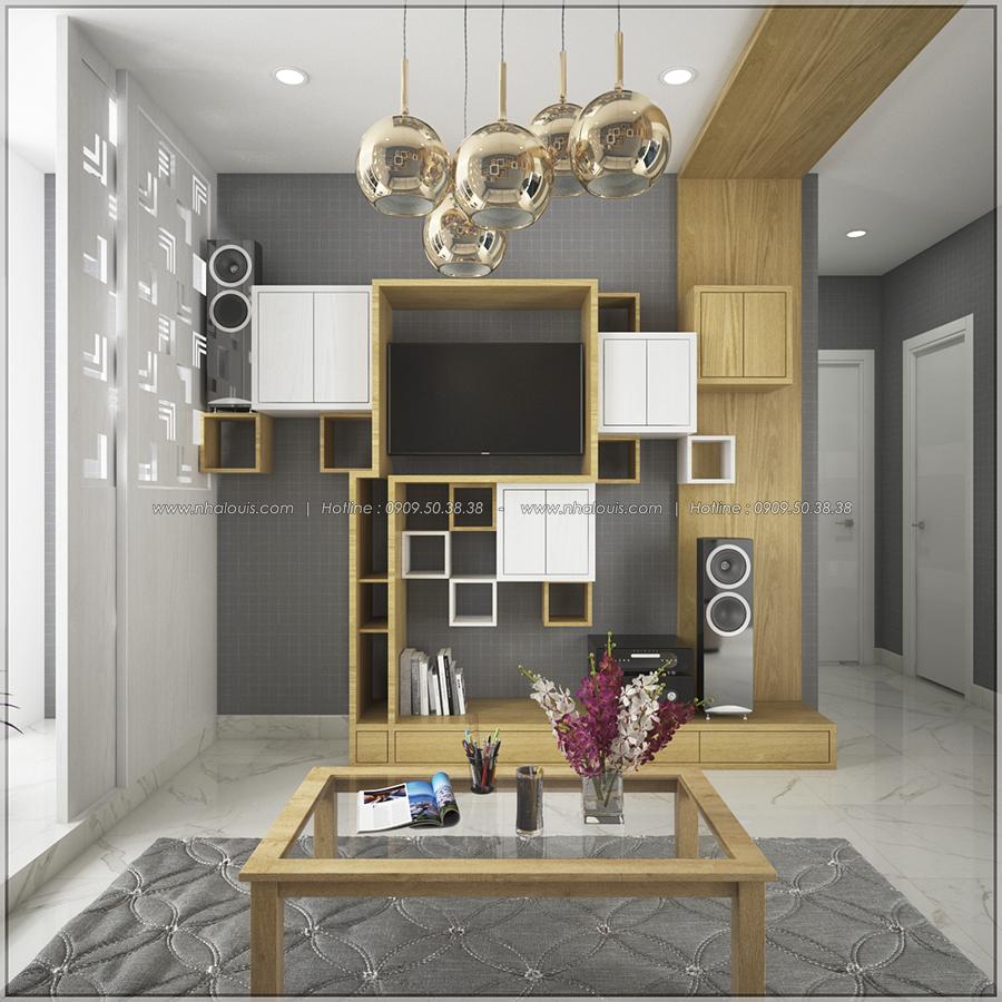 Mê mẩn với thiết kế nội thất chung cư nhỏ ở Quận 5 đẹp không lỗi lầm - 03