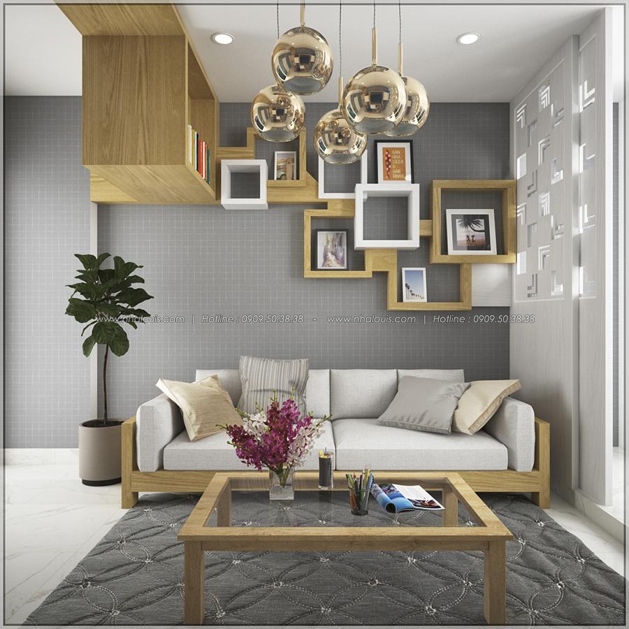 Mê mẩn với thiết kế nội thất chung cư nhỏ ở Quận 5 đẹp không lỗi lầm