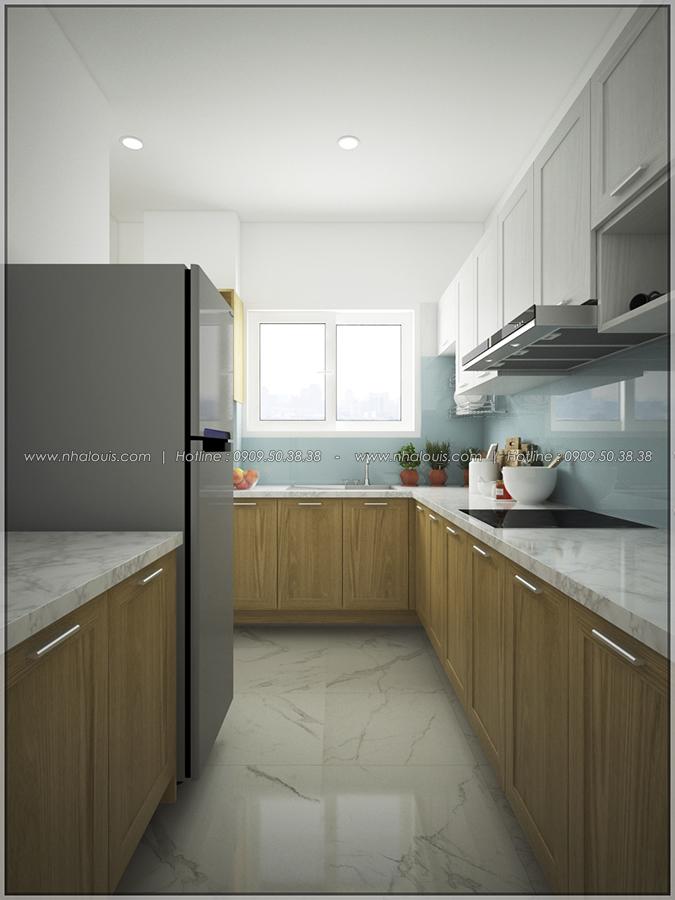 Mê mẩn với thiết kế nội thất chung cư nhỏ ở Quận 5 đẹp không lỗi lầm - 05