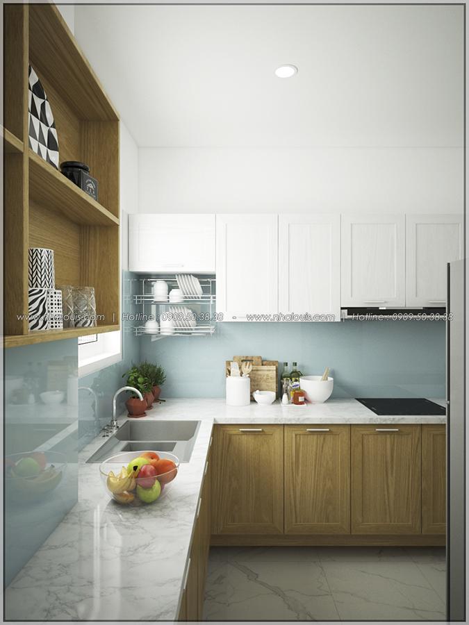 Mê mẩn với thiết kế nội thất chung cư nhỏ ở Quận 5 đẹp không lỗi lầm - 06
