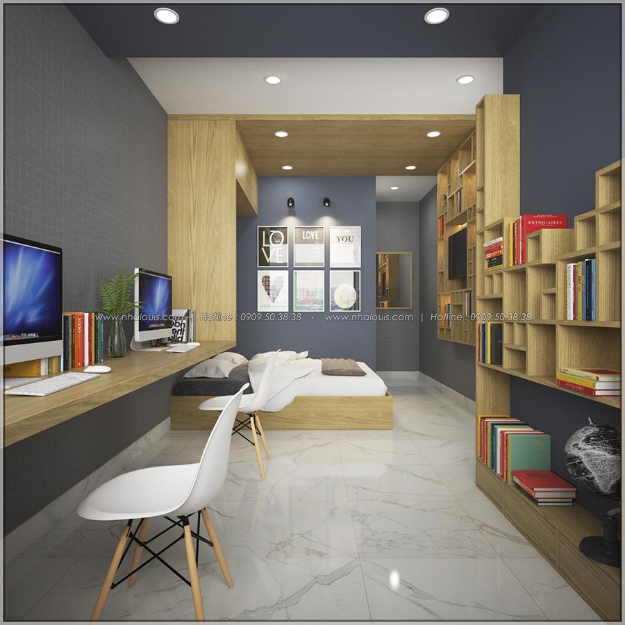 Mê mẩn với thiết kế nội thất chung cư nhỏ ở Quận 5 đẹp không lỗi lầm - 07