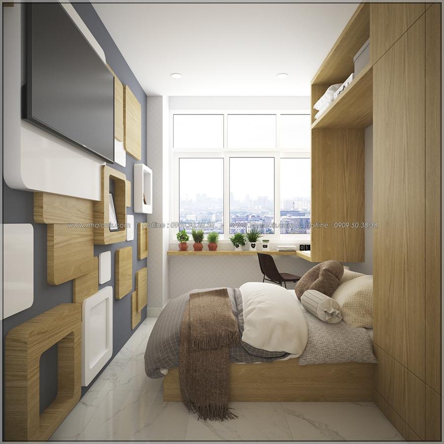 Mê mẩn với thiết kế nội thất chung cư nhỏ ở Quận 5 đẹp không lỗi lầm - 08