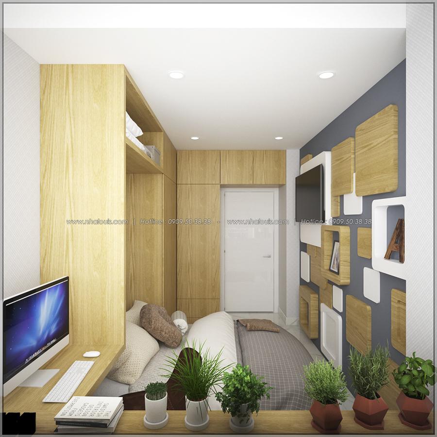 Mê mẩn với thiết kế nội thất chung cư nhỏ ở Quận 5 đẹp không lỗi lầm - 09