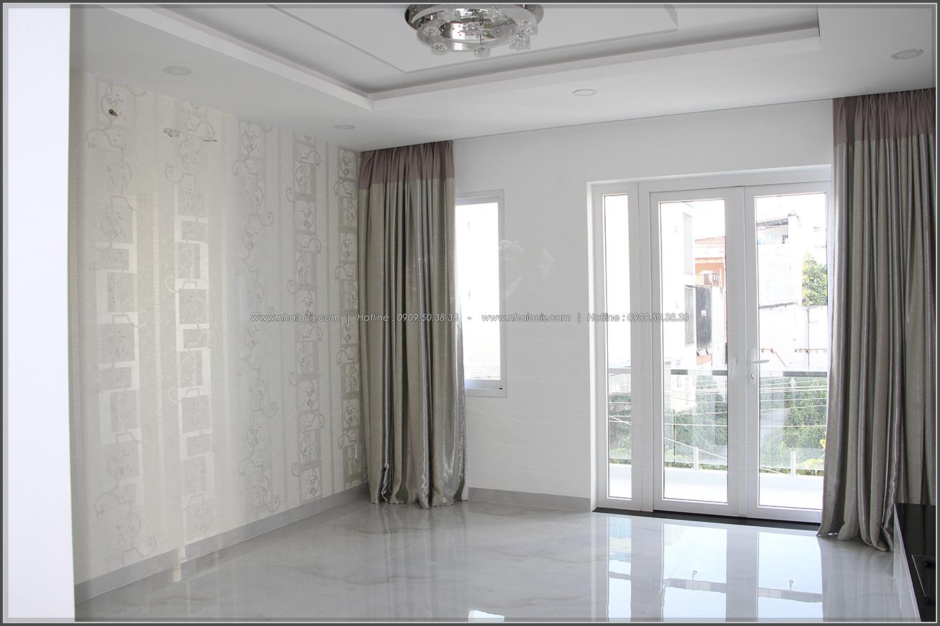 Ngắm nhìn nhà phố phong cách hiện đại 3 tầng tại Tân Phú