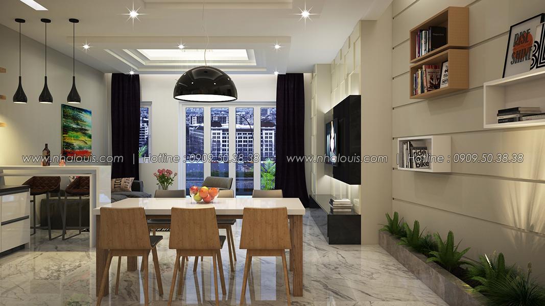 Nhà 5 tầng đẹp đẳng cấp trên mảnh đất mặt tiền triệu đô