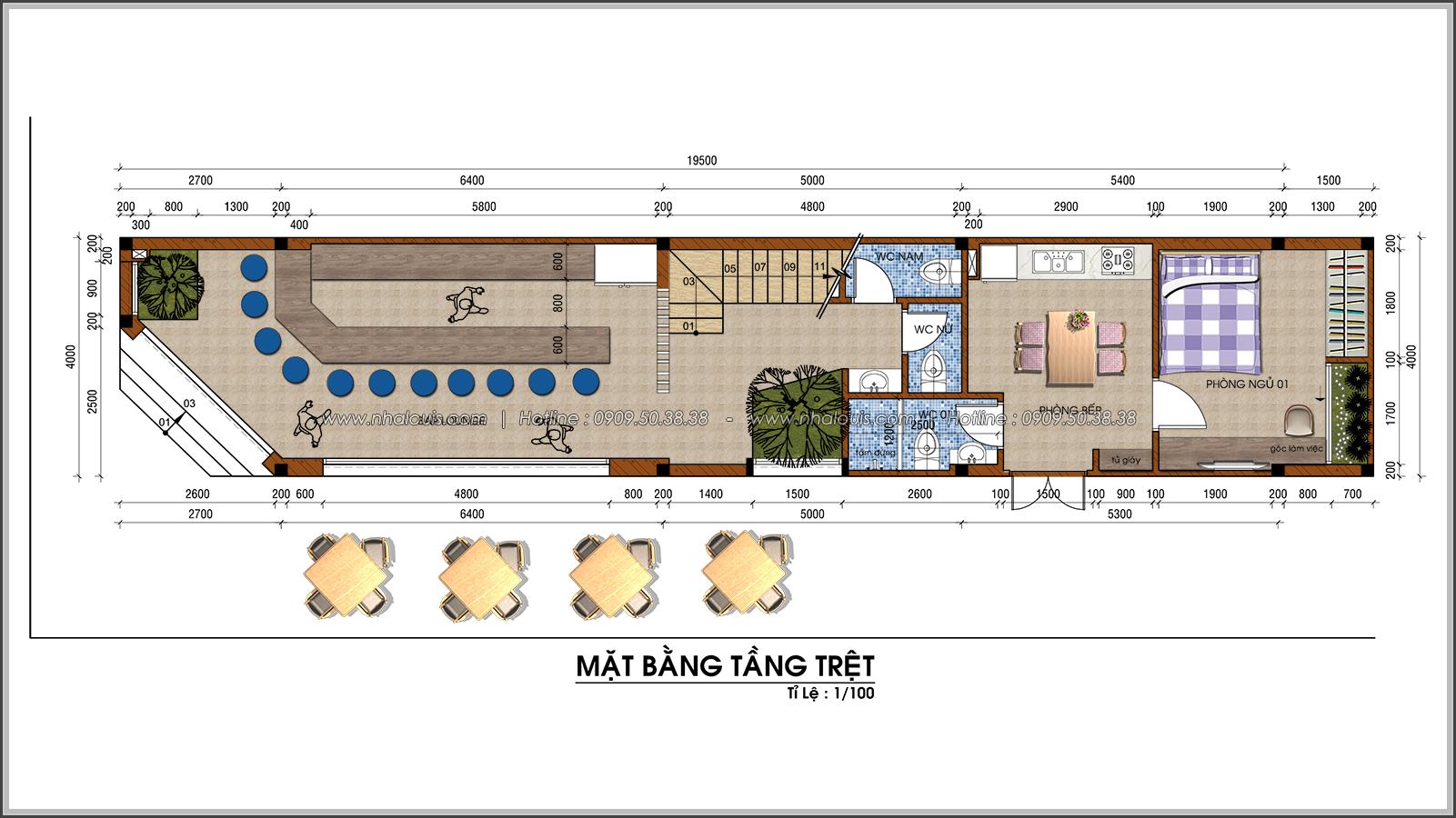 Nhà phố 2 mặt tiền độc đáo tại KDC Nam Long Quận 7 - 03