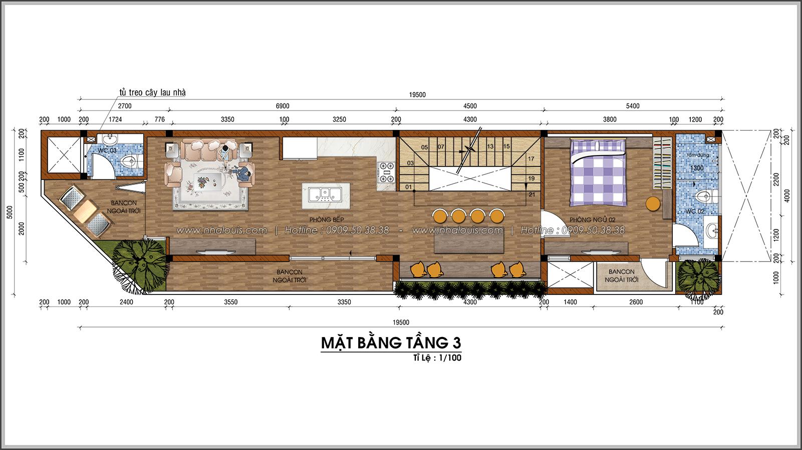 Nhà phố 2 mặt tiền độc đáo tại KDC Nam Long Quận 7 - 33