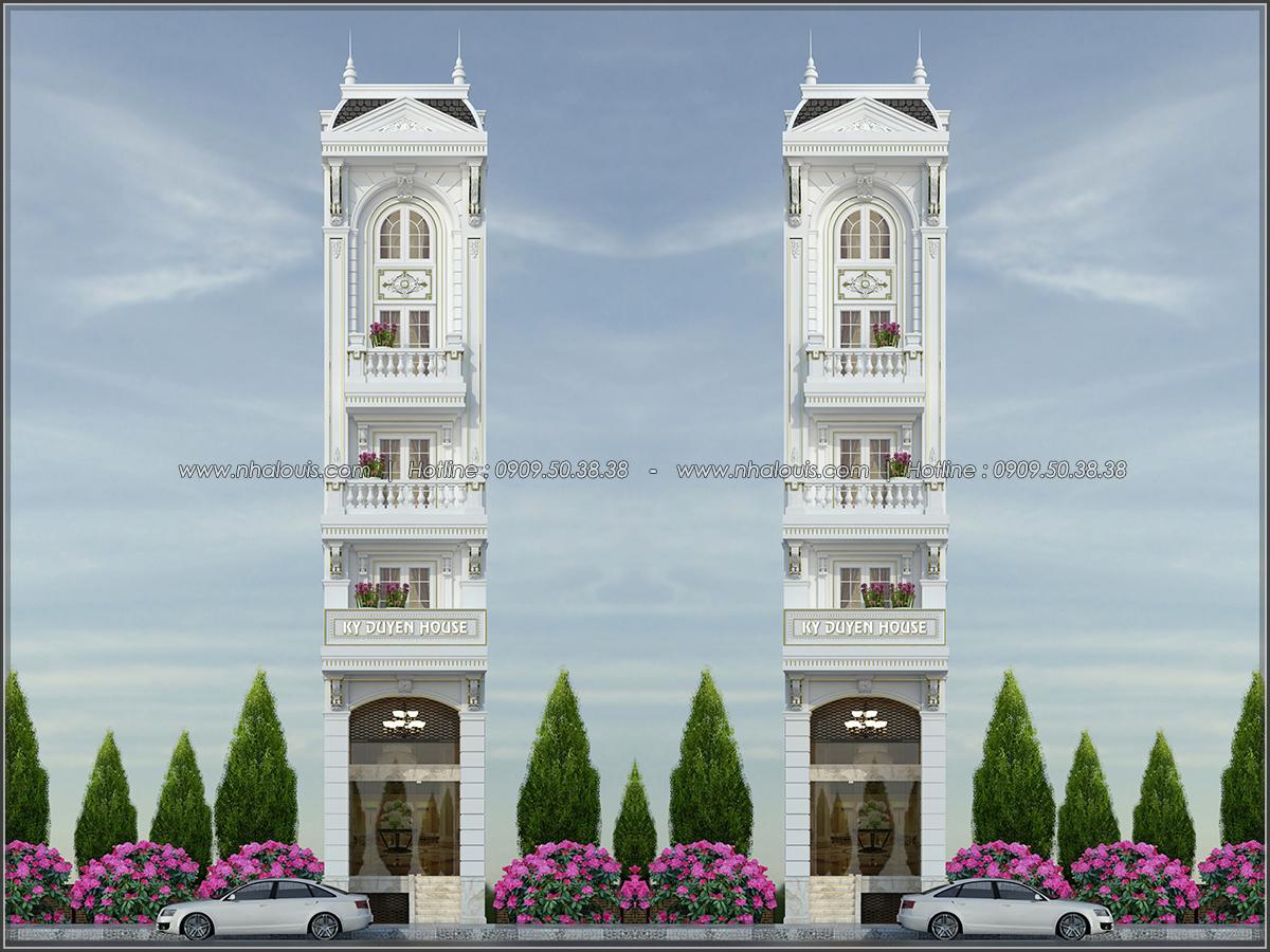 Nhà phố tân cổ điển ở Tân Bình mặt tiền 4m đẹp choáng ngợp - 01